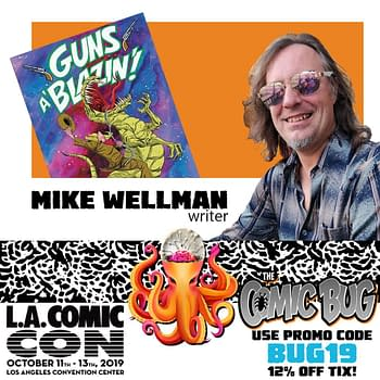 Mike Wellman Leaves The Comic Bug Opens The Atomic Basement in Los Angeles