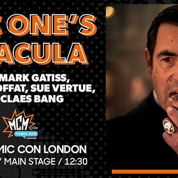 Mark Gatiss and Steven Moffat Bring BBC Ones Dracula to MCM London Comic-Con