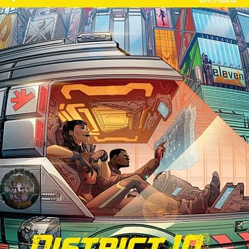 The Gatecrashers: Catching Up With the Cult Cyberpunk Indie Comic [Review]