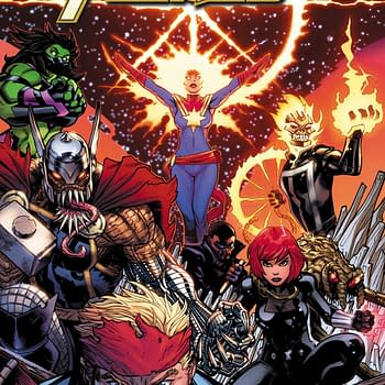 The Avengers Get New Looks in January: War Widow Brood Thor Captain Corsair and More