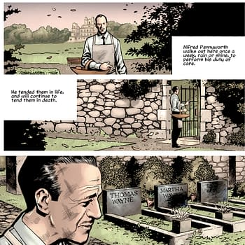 The Wayne Family Get New Gravestones in Batmans Grave #1 by Warren Ellis and Bryan Hitch (Spoilers)