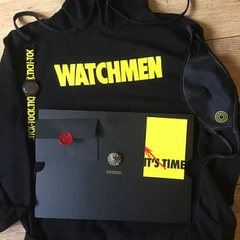 Unboxing a Big Box of HBO Watchmen Stuff &#8211 But Should I Have