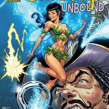 David Avallones Writers Commentary on Bettie Page: Unbound #4 &#8211 Tinkerbell vs. Cthulhu
