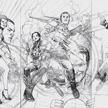 Jim Cheungs 003 Covers for James Bond in Pencils Inks and Colours