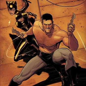 Bruce Wayne and Bane Go Topless For Big Fight in Batman #82 &#8211 But Not Catwoman Obviously