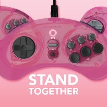 Sega and Retro-Bit Gaming Unite For Pink Controllers For A Cause