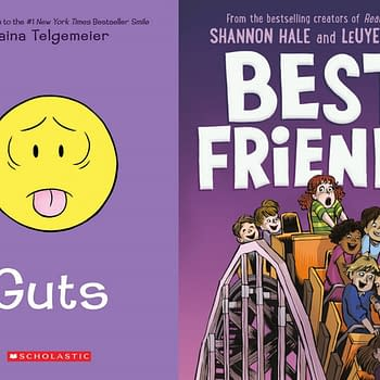 It Takes Best Friends With Guts to Top the Returning New York Times Graphic Novel Bestseller List