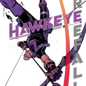 A New Ronin in a New Hawkeye Comic From Matthew Rosenberg and Otto Schmidt in January
