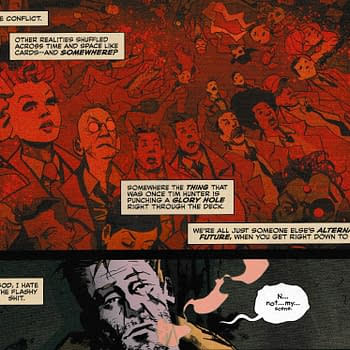 Is John Constantine Talking to Dan DiDio About the DC Timeline in Sandman Universe: Hellblazer Special (Spoilers)