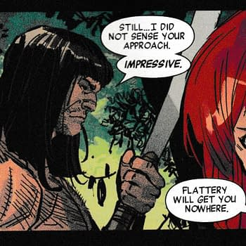 Black Widow Watch Out For That Conan The Barbarian&#8230 (Savage Avengers Annual Spoilers)