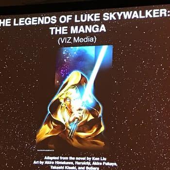Viz Media to Publish The Legends Of Luke Skywalker Star Wars Manga
