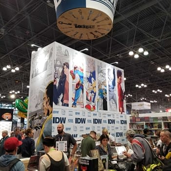 First Look at IDWs New York Comic Con Booth #NYCC