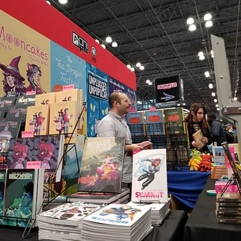 First Look at the Booths for Valiant Titan Oni/Lion Forge Zenescope at New York Comic Con #NYCC