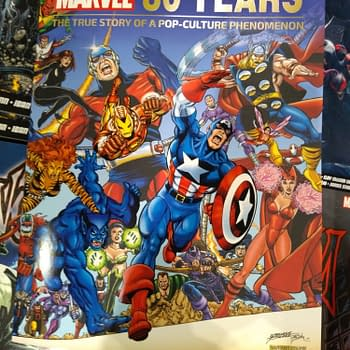 200-Copy 80 Years Of Marvel George Perez Variant at MCM London Comic Con Today &#8211 if You Run