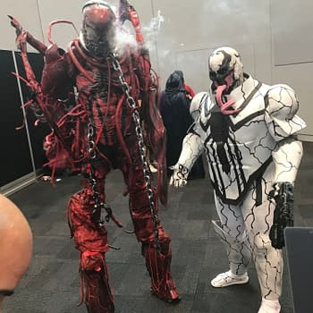 A Little Light Smattering of Cosplay From NYCC 2019 Day One&#8230. From Good Omens to Maximum Carnage