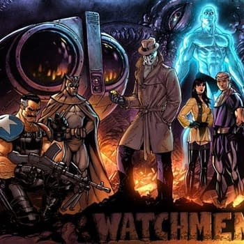 Jim Lee Draws Watchmen &#8211 And Then Lost It