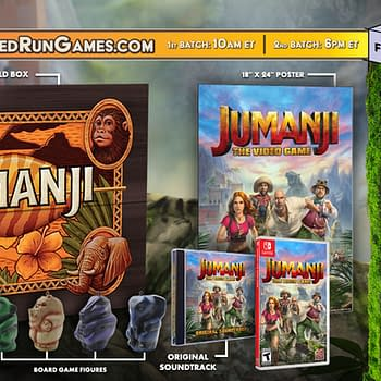 Jumanji: The Video Game Is Getting A Collectors Edition