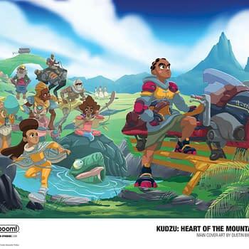 Dustin Bolton Brings Afro-Futurist Adventure Kudzu: Heart of the Mountain to KaBOOM in 2020