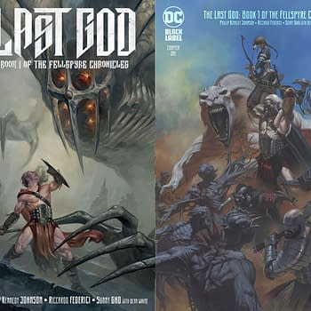 DC Comics to Overship Philip Kennedy Johnsons The Last God: Book One of the Fellspyre Chronicle
