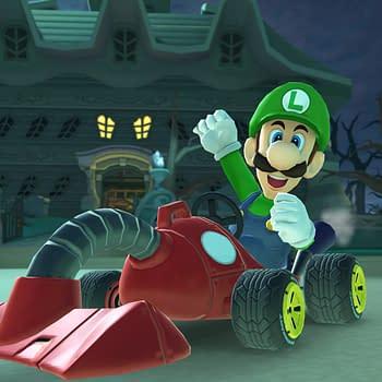 King Boo Waluigi and Luigis Mansion Track Are Coming to Mario Kart Tour