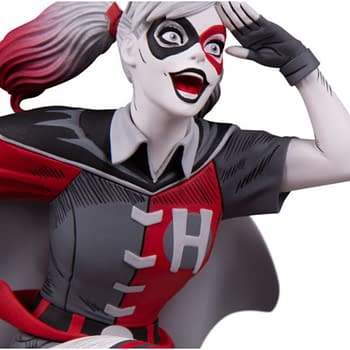 Harley Quinn is Batmans Sidekick in New DC Collectibles Statue