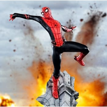 Spider-Man Is Far From Home &#038 Gets His Own Iron Studios Statue