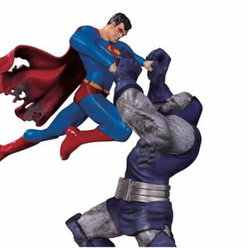 Superman vs Darkseid Statue Was so Popular It Gets a Third Edition