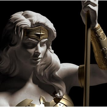Wonder Woman Goes Classical Greek in a New Cryptozoic Statue