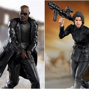 Nick Fury &#038 Maria Hill Get Statues From Iron Studios