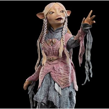 Dark Crystal: Age Of Resistance Gets A Statue From Weta Workshop