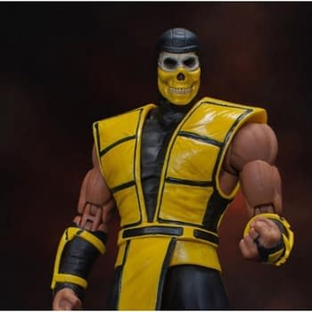 Scorpion Shows His True Face In New BBTS Exclusive Mortal Kombat Figure