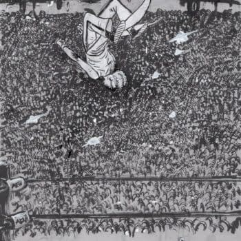 Daniel Warren Johnson Draws on AEW Dynamite for #Inktober Sketches