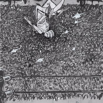 Daniel Warren Johnson Draws AEW Dynamites Private Party for #Inktober Sketch