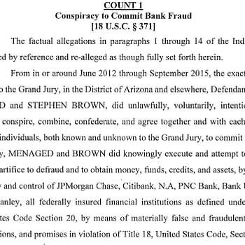 Former IDW Board Member Stephen Brown Indicted for Bank Fraud With Reality TV Stars Dad [Updated]