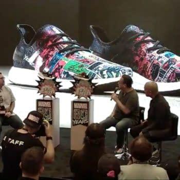 Joe Quesada Reveals Hidden Code in Marvel Adidas Footlocker Sneakers
