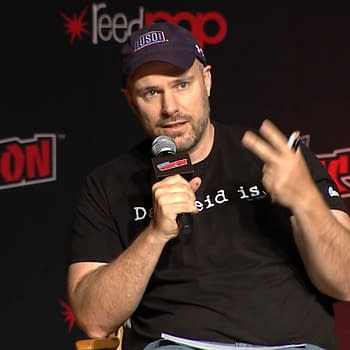Tom King Drops Double Figure F-Bombs at the DC Nation Panel at #NYCC
