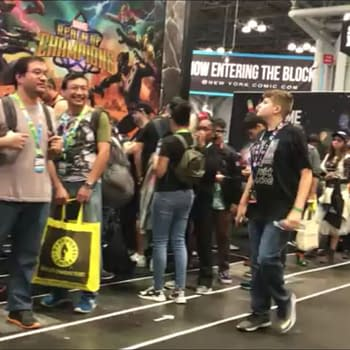 Wandering Through the New York Comic Con 2019 Showfloor on a Sunday Afternoon (VIDEO)