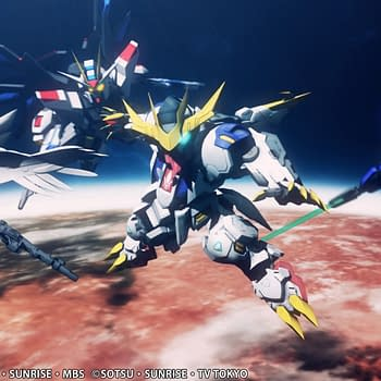 SD Gundam G Generation Cross Rays Headed West Next Month