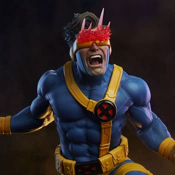 Cyclops Gives Us A 90s Throwback With This New Sideshow Statue