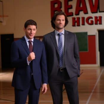 """Supernatural"" Season 15 ""Atomic Monsters"": Jensen Ackles Directs Delightfully Meta Episode [LIVE-TWEET TAKEAWAYS]"