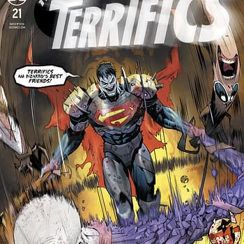 Trademark Infringement in Terrifics #21 [Preview]