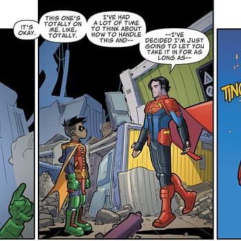 Damian Wayne Definitely Vegetarian No More &#8211 and a Tease For 5G Superman #16 (Spoilers)