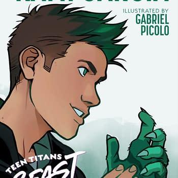 New Art from Kami Garcia and Gabriel Picolos Teen Titans: Beast Boy at NYCC