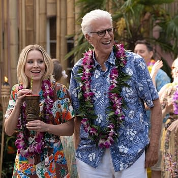 The Good Place Season 4 Chillaxing: Fake Monks Hooded Figues Exploding Motorcycles and &#8211 What You Need More [SPOILER REVIEW]