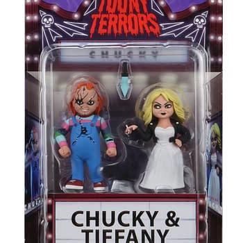 Chucky and Tiffany Toony Terrors Final Product Revealed from NECA