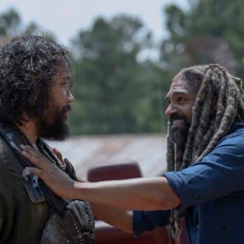 Cooper Andrews as Jerry, Khary Payton as Ezekiel - The Walking Dead _ Season 10, Episode 4 - Photo Credit: Gene Page/AMC