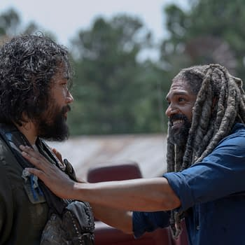 The Walking Dead Star Khary Payton and Son Karter Feel the Love