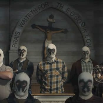 Watchmen included the Rorschach-worshipping Seventh Kavalry (Image: HBO)