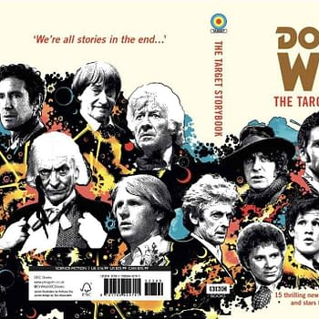 Colin Baker Signing His Own Doctor Who Stories at Forbidden Planet London Today &#8211 The Target Storybook