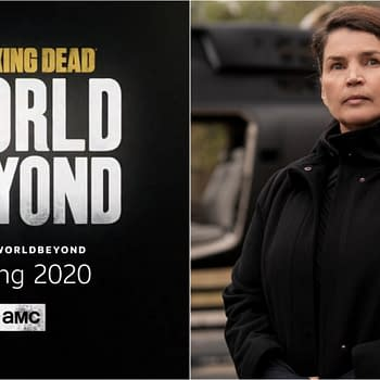 The Walking Dead: World Beyond &#8211 Julia Ormond Talks Elizabeths CRM Goals Joining TWD Universe